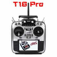 Jersey T16 pro T16 y salón de cardán de fuente abierta Multi-protocolo transmisor de Radio JP4-in-1 módulo RF, 2,4G 16CH controlador remoto