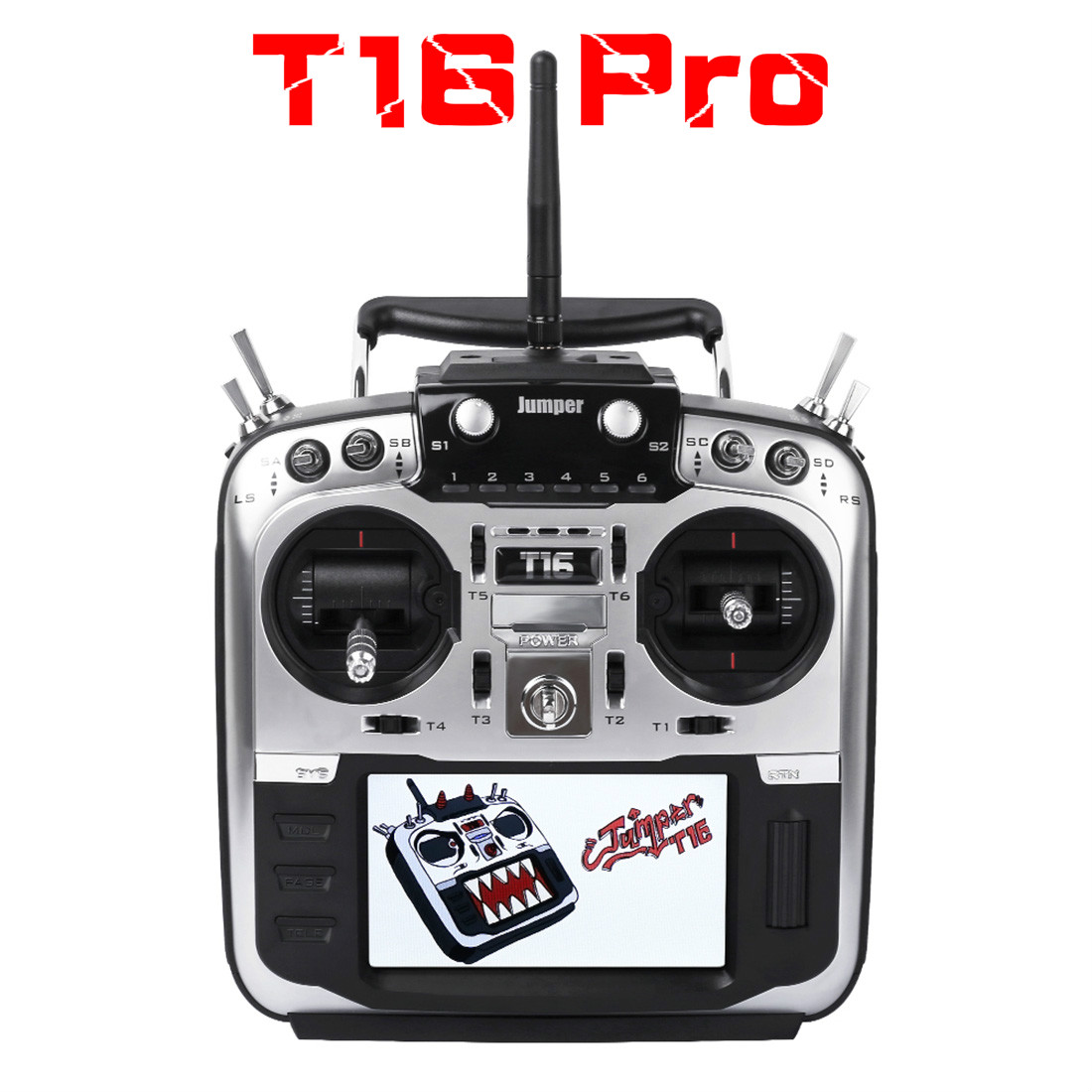 Jumper T16 pro T16 Plus Hall Gimbal Open Source Multi protocol Radio Transmitter JP4 in 1 RF Module 2.4G 16CH Remote controller-in Parts & Accessories from Toys & Hobbies