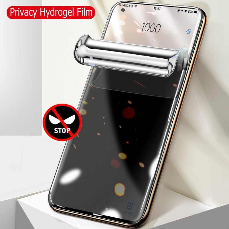 Hydrogel Film For Samsung Galaxy S10 Plus S10e Privacy Peep Soft Screen Protector For Samsung S9 Note 10 Plus Protective Film