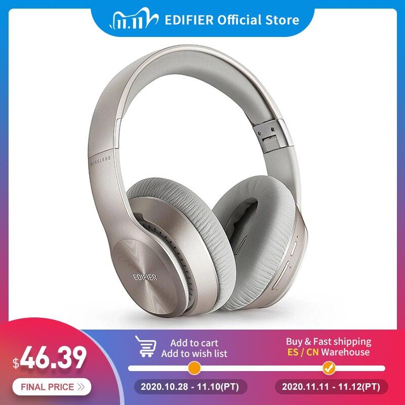 EDIFIER W820BT Wireless Bluetooth Stereo Headphones Bluetooth V4 1 with CSR technology Adjustable Headband earphones