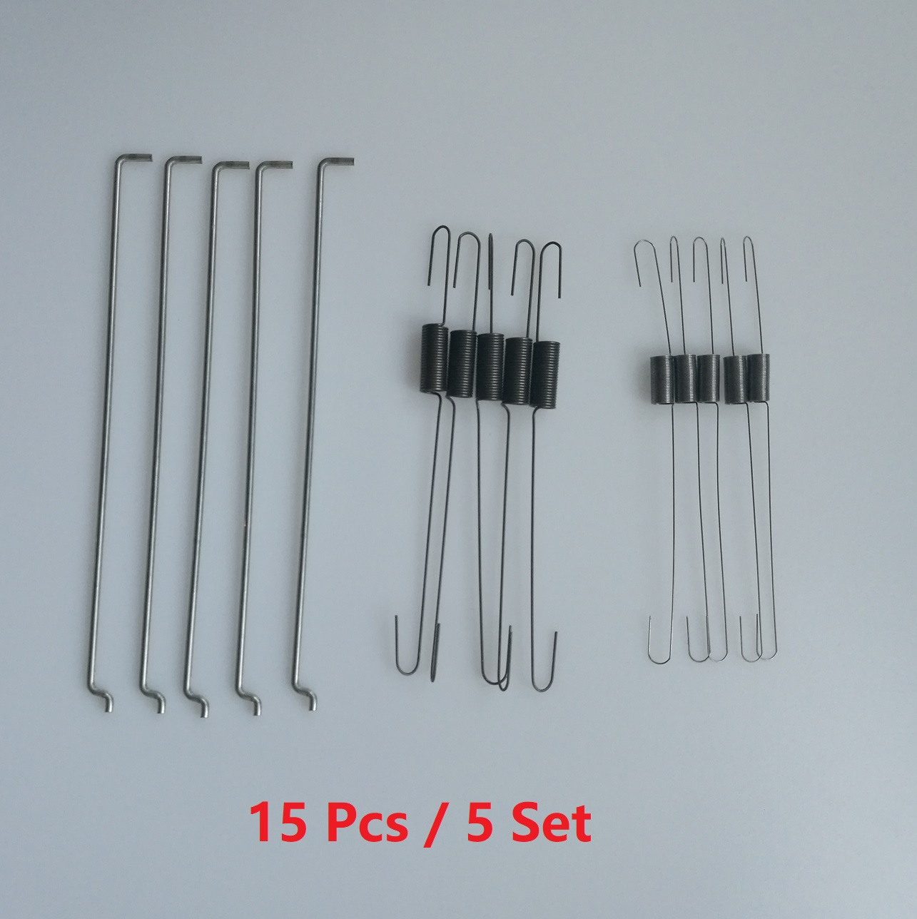 15pcs/5set 6pcs Metal Throttle Return Spring Governor Link Rod Set 16555-ZE1-000 16561-ZE1-020 Fit For Honda GX140 GX160 GX200