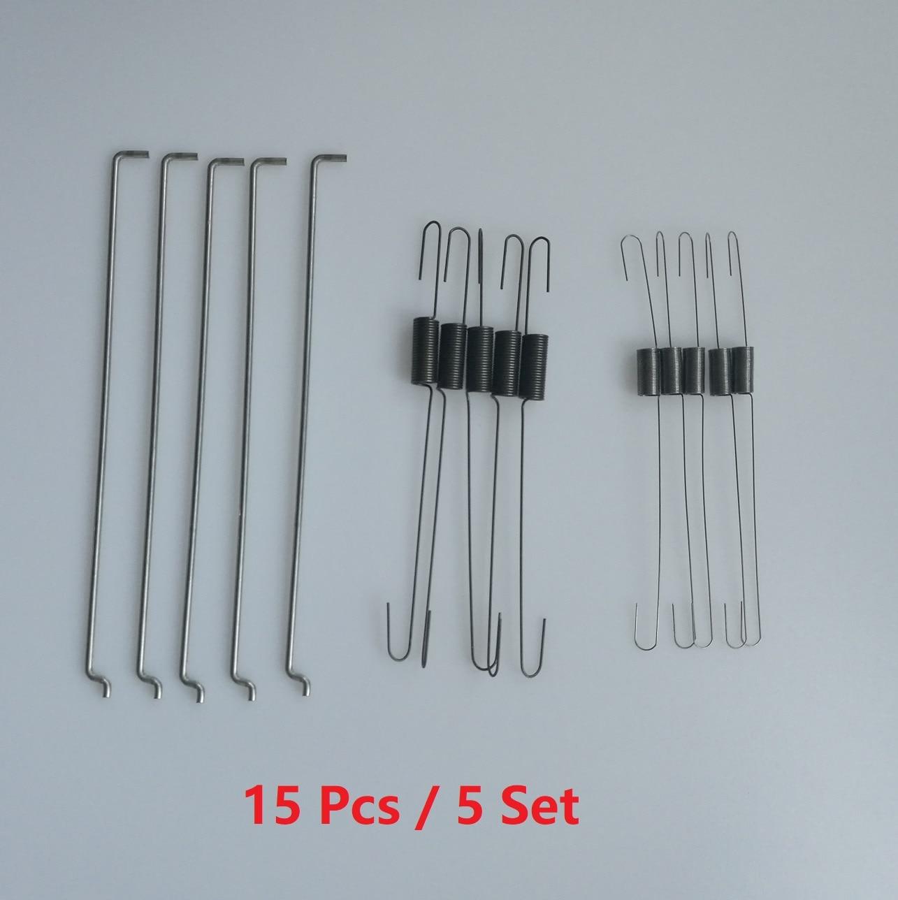 15pcs/5set 6pcs Metal Throttle Return Spring Governor Link Rod Set 16555-ZE1-000 16561-ZE1-020 Fit For Honda GX140 GX160 GX200