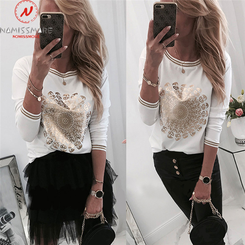 Elegant Women Hoodies For Streetwear Color Matching Patchwork Design O-Neck Long Sleeve Print Autumn Winter Casual Pullovers Top