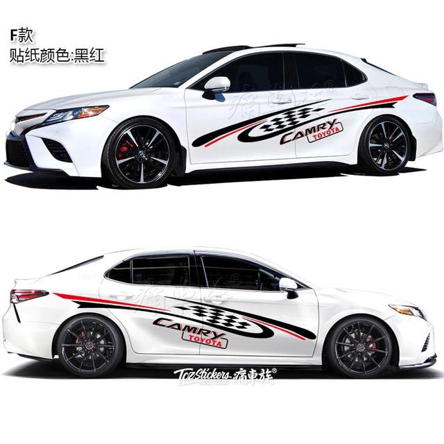 For Toyota Camry Avalon 2019 Car Sticker Body Exterior Decoration Sticker Avalon Sport Exterior Modification 5