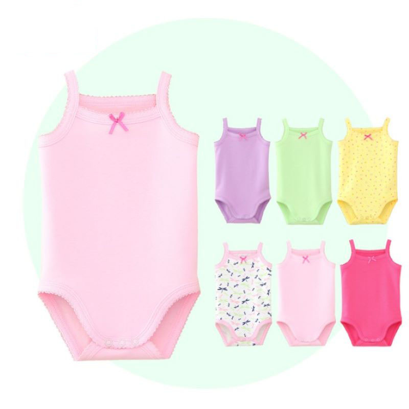 Baby Summer Rompers Infant Sleeveless Rompers Cotton Newborn Clothes For Boys Girls Sleeveless Romeprs Jumpsuit Infant Clothing