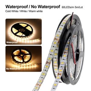 Image 3 - LED Strip 5630 5730 Warm White/Cold White DC12V Flexible LED Strip Light Brighter Than 5050 LED Tape Waterproof 60LED/M 5m/lot.