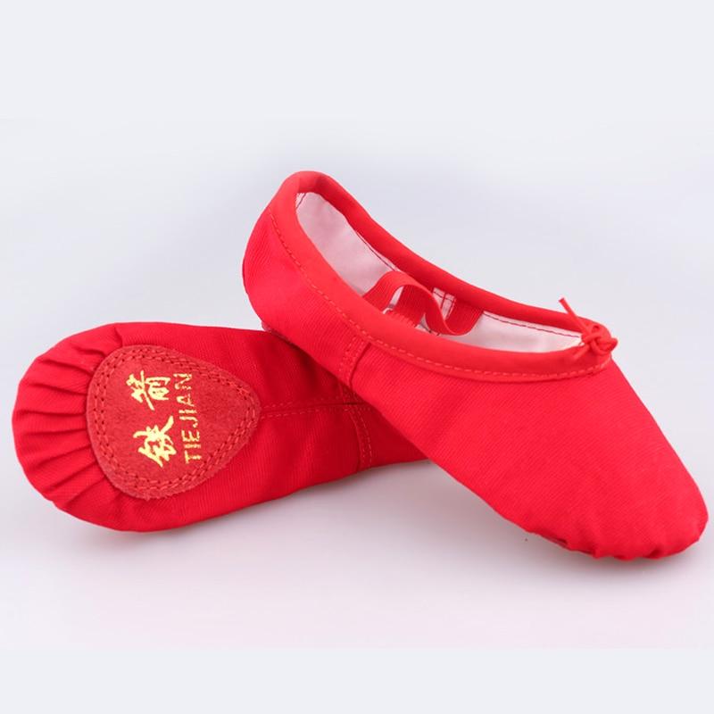 Children 39 s ballet dance shoes canvas student dance shoes adult men and women cat claws practice shoes girls ballet wholesale