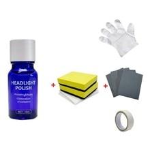 10 мл/30 мл Автомобильные фары жидкий агент восстановления керамическое покрытие супер гидрофобное стекло покрытие полировка покрытие инструмент для ремонта жидкости