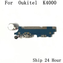Oukitel K4000 Used USB Charge Board + Vibration Motor For Oukitel K4000 Repair Fixing Part Replacement(China)