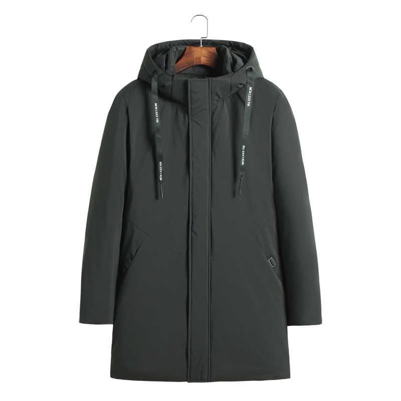 Mais 10xl 9xl alta qualidade parka homens inverno longo jaqueta masculina grosso algodão-acolchoado jaqueta parka casaco masculino moda casual casacos