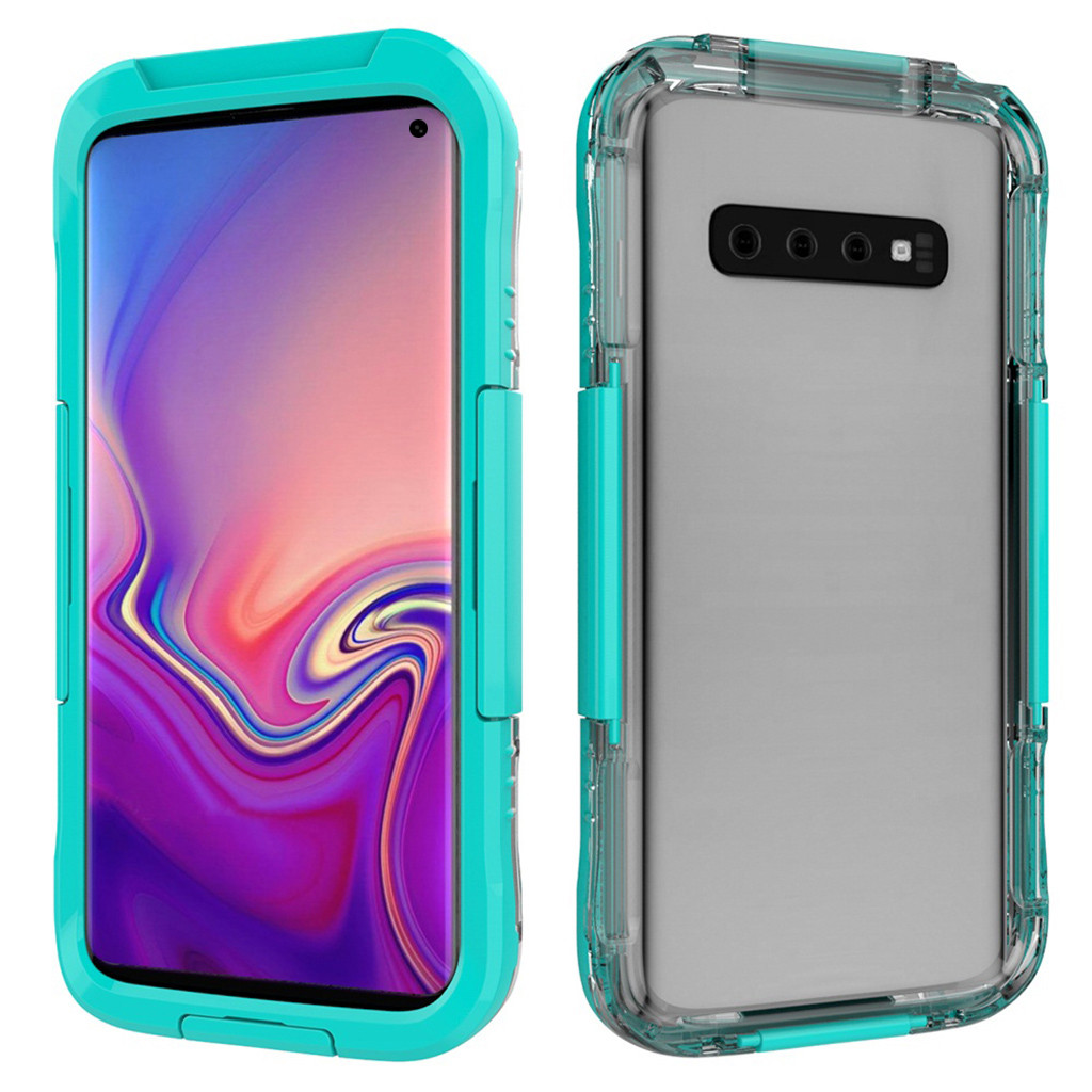 For Samsung Galaxy S10 Phone Case Underwater Waterproof Case Cover With Screen Protector For Samsung Galaxy S10 6.1Inch