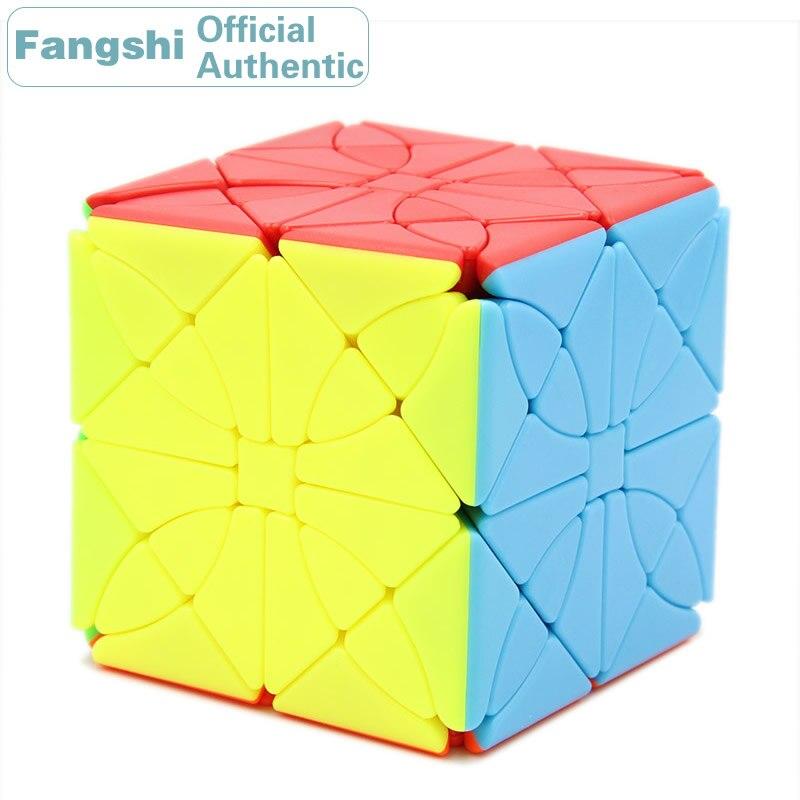 Fangshi F/S limCube Morpho Aureola Morphidae Aurora Cube magique tour de coin licorne papillon haute difficulté Collection Puzzles