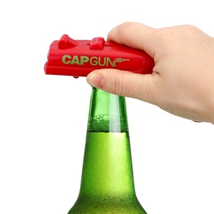 Image 3 - NEW Firing Cap Gun Creative Flying Cap Launcher Bottle Beer Opener