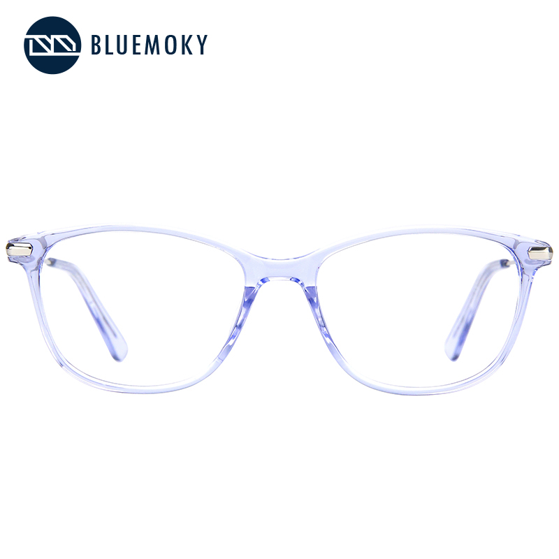 Image 5 - BLUEMOKY Prescription Glasses Frame for Women Optical Myopia Eyewear Eyeglasses Frame Women Clear Lens Rectangular Fake Glasses-in Women's Eyewear Frames from Apparel Accessories
