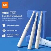 Xiaomi mijia 5 sonic escova de dentes elétrica usb recarregável longa vida da bateria sem fio à prova dcordless água ultra sônica escova de dentes automática