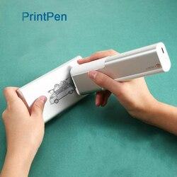 SeenDa Mobile A Getto D'inchiostro Stampante Printpen Palmare Princube Mini Marcatore per il Logo Data di Scadenza Stampa di Codice del Lotto Impresora Portatil
