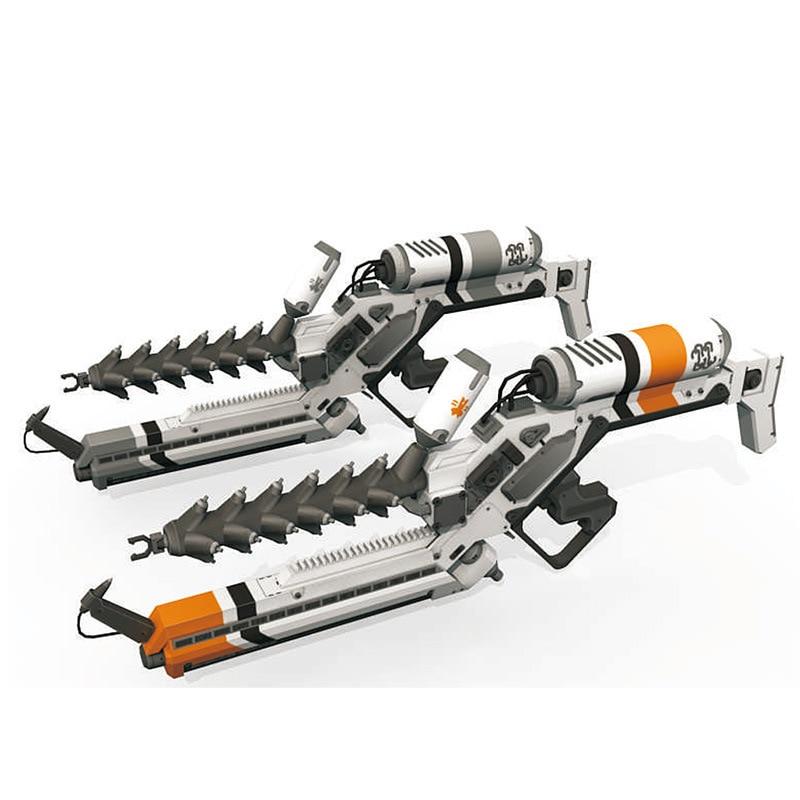 District 9 Alien fusil 3D papier modèle bricolage jouets pour enfants adultes 1:1 échelle moulé sous pression en trois dimensions pistolet Snipper modèle