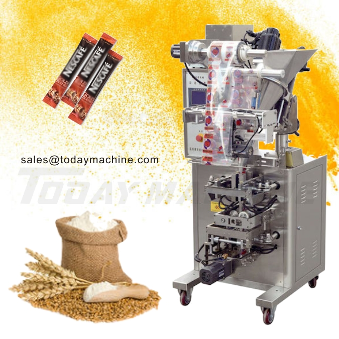 Купить с кэшбэком Supply Automatic Milk Detergent Coffee Small Sachets Powder Packing Filling Machine