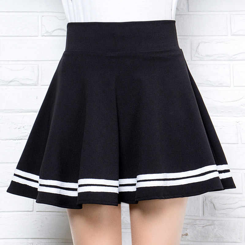 Winter and Summer Style Brand Women Skirt Elastic Faldas Ladies Midi Skirts Sexy Girl Mini Short Skirts Saia Feminina