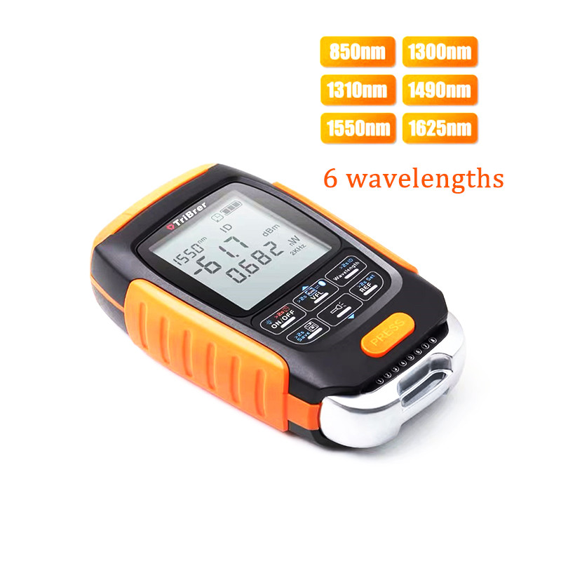 Mini 4 In 1 Multifunction Optical Power Meter 15km Visual Fault Locator Network Cable Test Optical Fiber Tester Sell Well