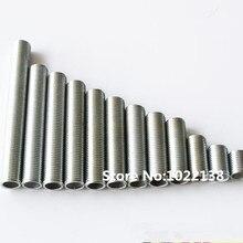 10 шт. M10 соска шарнир металлическая труба с резьбой для самодельные светильники аксессуары