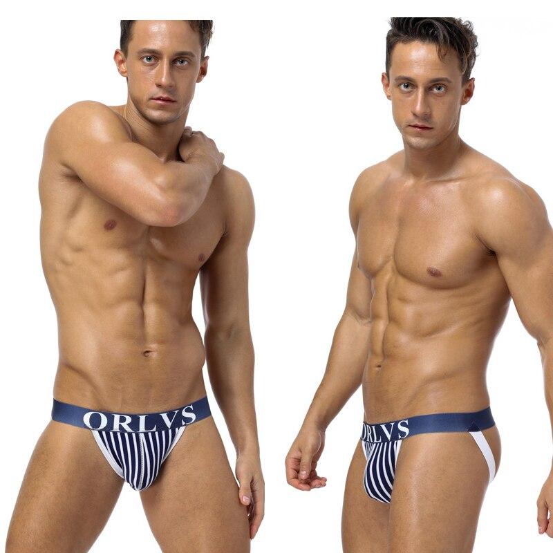 3pcs Hot Sell Tight Men Underwear Thong Jockstrap Comfortable Backless Breathable Jock Strap Homme Slip Erotic String Homens