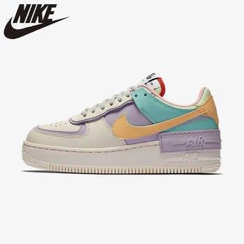 Nike Air Force 1 оригинальная обувь для скейтбординга для родителей и детей Детская обувь удобная мужская обувь спортивные кроссовки # CI0919