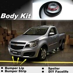 NOVOVISU spojler zderzaka usta dla chevroleta Tornado Utility/do tuningu samochodu/zalecany zestaw do karoserii/taśmy przedniej spódnicy deflektor