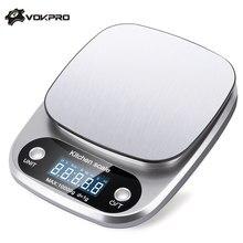 5kg/10g 1g/0.1g Digitale Bilancia LCD Portatile Elettronico Bilancia s Stadera Da Cucina Bilancia s Cibo Postale di Misura di Peso Bilancia
