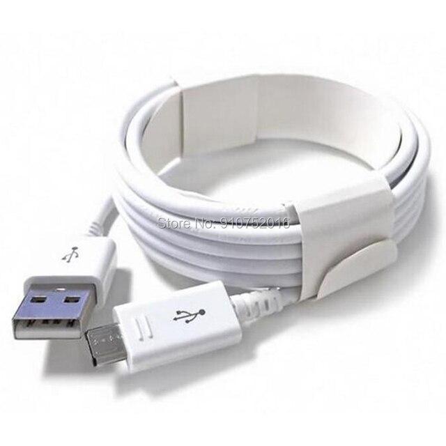 10 قطعة مايكرو USB كابل 1m/2m/3m مزامنة بيانات USB شاحن كابل ل سامسونج HTC LG هواوي Xiaomi الروبوت الهاتف كابلات الأبيض