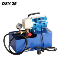 0 100 bar Portable flexible DSY 25~100 Hydrostatic electric pressure test pump