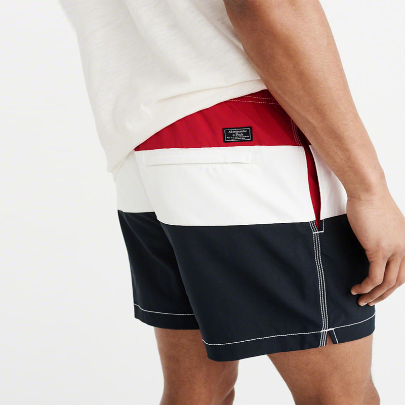 Europe And America Men Quick-Dry Shorts 5 Shorts Shorts Beach Shorts Men's Hot Selling