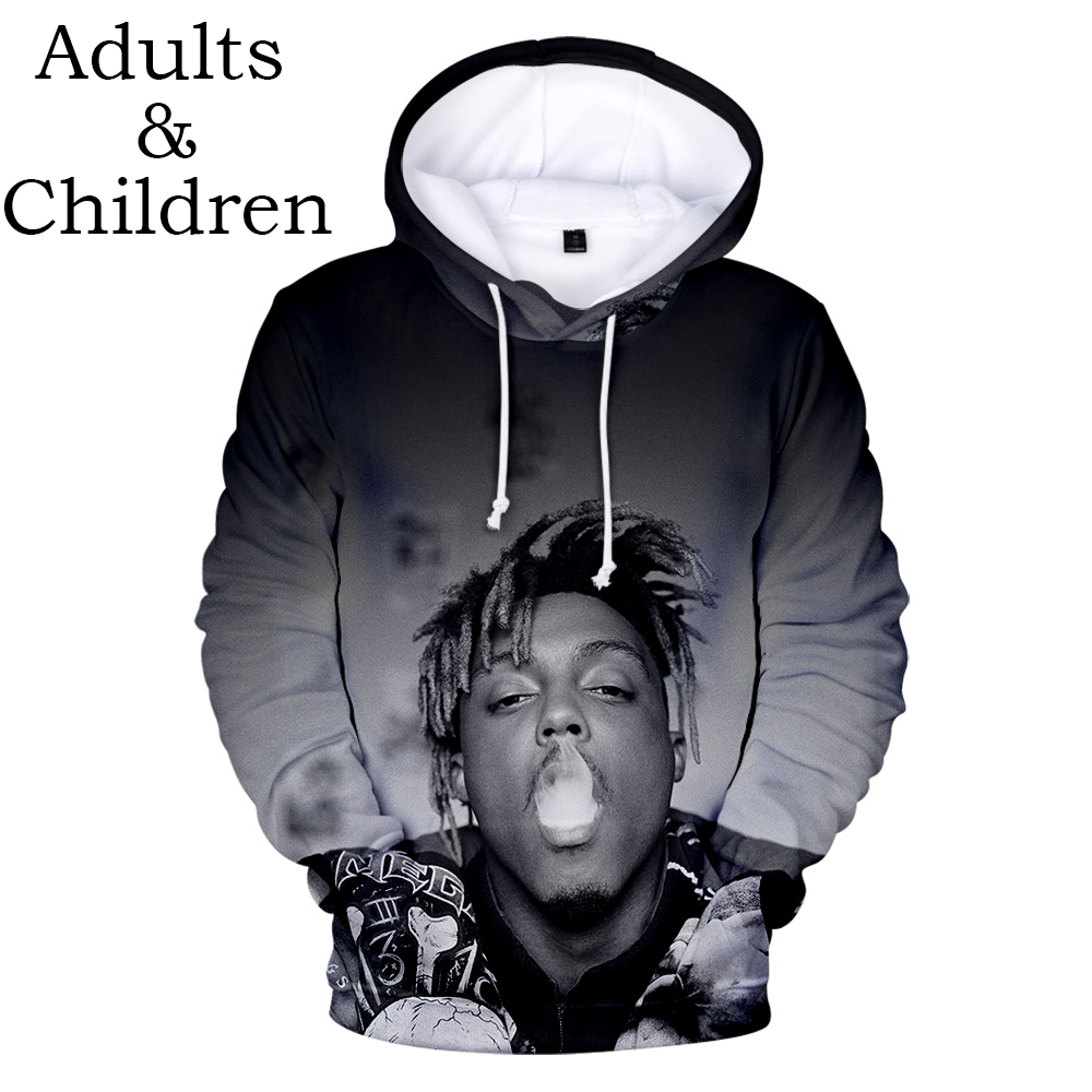 Autumn Hoodie 3D Juice WRLD Hoodies Men Women Casual Sweatshirts Hip Hop Kids pullovers suitable 3D Juice WRLD boys girls Tops
