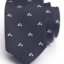 black contrasting pattern tie with fashion patterned skinny ties men 2020