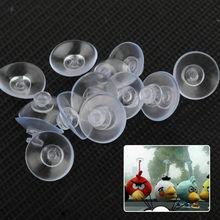 Sucker Suction-Cups-Mushroom-Head Transparent 20mm 10 Button CNCRAFT High-End 20/50/100pcs/lot