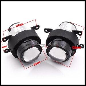 Image 2 - Sinolyn Bi XenonหมอกไฟสำหรับFord Focus 2 MK2 Fiesta/CITROEN C4/Subaru Forester/Honda fit/Suzuki Swift H11 โคมไฟHID Retrofit