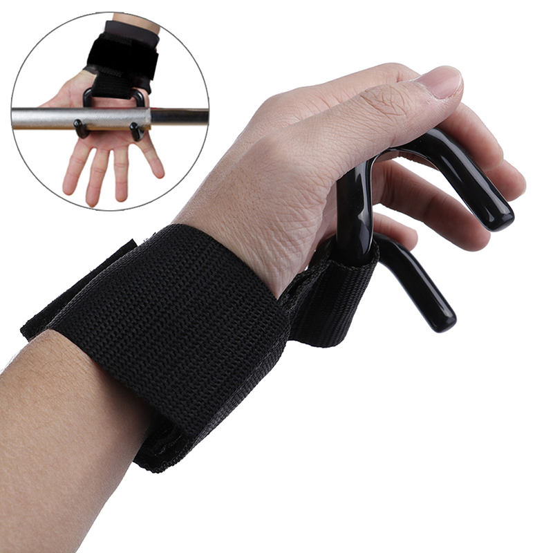 Unsex гимнастический тренажер для поднятия веса Наручные Ремни для подтягивания помощь сила сцепление учебный крючок перчатки силовая тренировочная помощь|Встроенные тренажеры|   | АлиЭкспресс