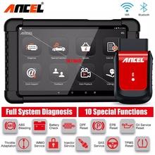 Ancel X6 Bluetooth Obd2 skaner narzędzie diagnostyczne do samochodów profesjonalny pełny układ Airbag Oil EPB DPF Reset narzędzia skaner samochodowy tanie tanio CN (pochodzenie) Original 0 98inch 10 35inch Plastics Poduszka powietrzna skanowania narzędzia i symulatory 1 9kg Newest Update Online