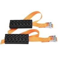 Anti Skid Tire Blocks Emergency Snow Mud Sand Tire Chain Straps Traction Device Anti Skid Tire Block