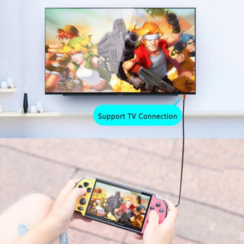 PSP HD מסך 5.1inch רוקר כפול כף יד PSP קונסולת המשחק מובנה עשרה משחקים באלפים תמונת תמיכת mp4 mp3 לשחק ספר אלקטרוני (3)