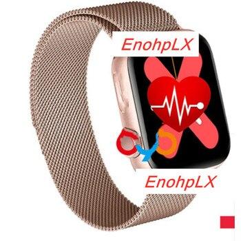W68 Smart Watch Men Series 5 Full Touch WristBand IP67 Fitness Tracker Bracelet Heart Rate Monitor SmartWatch Women VS W58 Iwo12 цена 2017