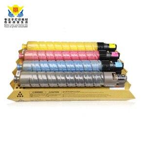 Image 3 - JIANYINGCHEN cartouche de Toner de couleur Compatible avec ricoh, pour imprimante laser, MPC2000, MPC3000, MPC2500 (lot de 4 pièces)
