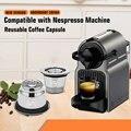 ICafilas многоразовые кофейные капсулы из нержавеющей стали  капсулы для кофе Nespresso  фильтры для кофе эспрессо  кофемашины