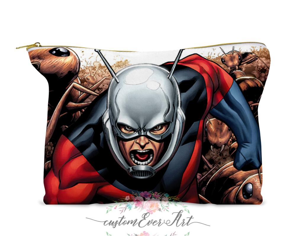 Hank Pym Cosmetic Bag Cosmetic Case Cosmetic Pouch  Makeup Bag Cute Travel Bag For Women Gift