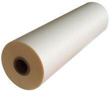 Película de laminado en caliente Bopp para laminador de rodillo caliente, 1 unidad, transparente brillante, 320mm x 200M, 28Mic, 1