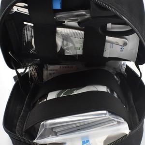Image 5 - Kamp ilk yardım çantası taktik tıbbi taşınabilir askeri yürüyüş ilaç paketi acil Oxford kumaş bel paketi büyük boş çanta