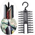 Einstellbare Top Qualität 360 Grad Rotierenden 20Tie Rack Gürtel Schal Krawatten Aufhänger Halter Multifunktionale Closet Organizer Auf Verkauf