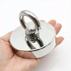 Спасательный магнит сильный Мощный круглый магнит крюк спасательный магнит рыболовное оборудование держатель