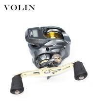 Volin 2020 Новая цифровая катушка для рыбалки 10 кг магнитный