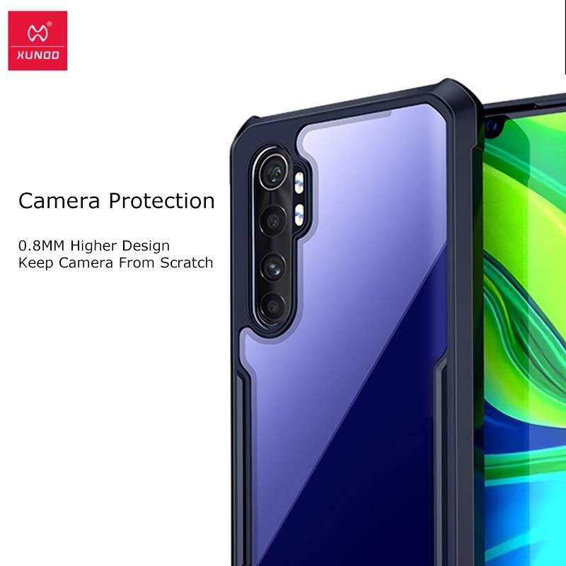 BestST Funda Transparente con Cord/ón para Xiaomi Mi Note 10 Lite Moda y Practico Anti-Choque Ultrafina Suave TPU Carcasa de movil con Colgante//Cadena,Negro Anti-rasgu/ños